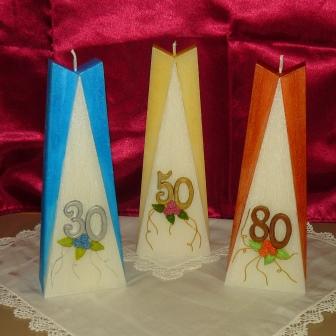 Geburtstag Zahlen in Blumen