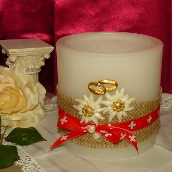 Hochzeitslaterne Edelweiss