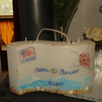 Sonderanfertigung Koffer Hochzeit