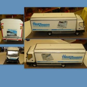 Sonderanfertigung Lastwagen 3D