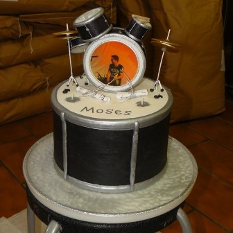 Sonderanfertigung Schlagzeug 3D