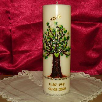 Trauerkerze Baum