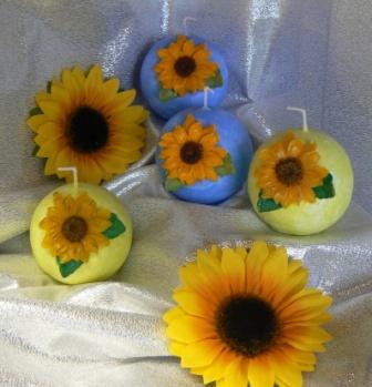 Sonnenblumen Blüten
