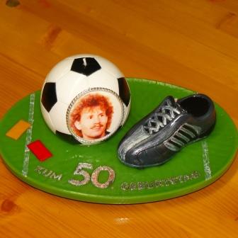 Geburtstag Fussballplatz