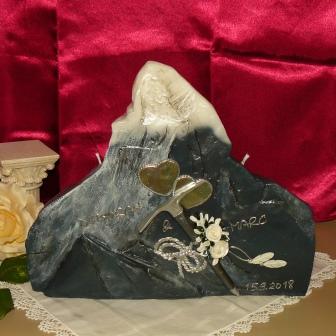Hochzeitskerze Matterhorn