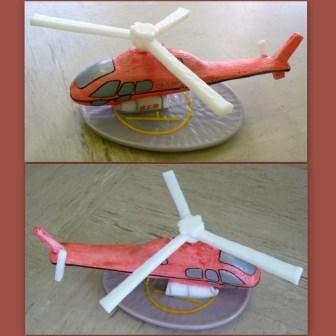 Sonderanfertigung Helikopter