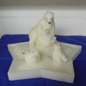 Polarstern mit Bären